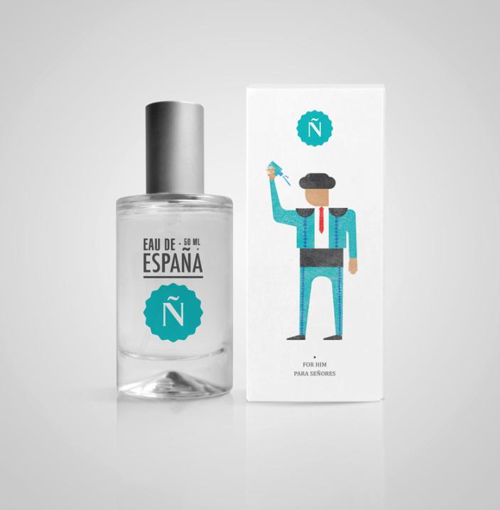 香水展示设计手绘图