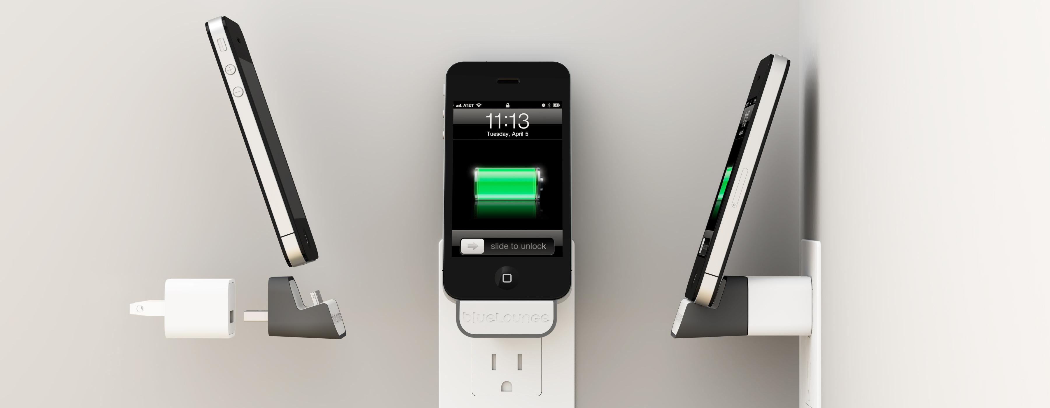 完美iphone充电伴侣-bluelounge